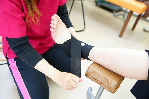 膝・足首について